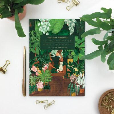 "Notizbuch A5 ""Pflanzen-Muddi"""