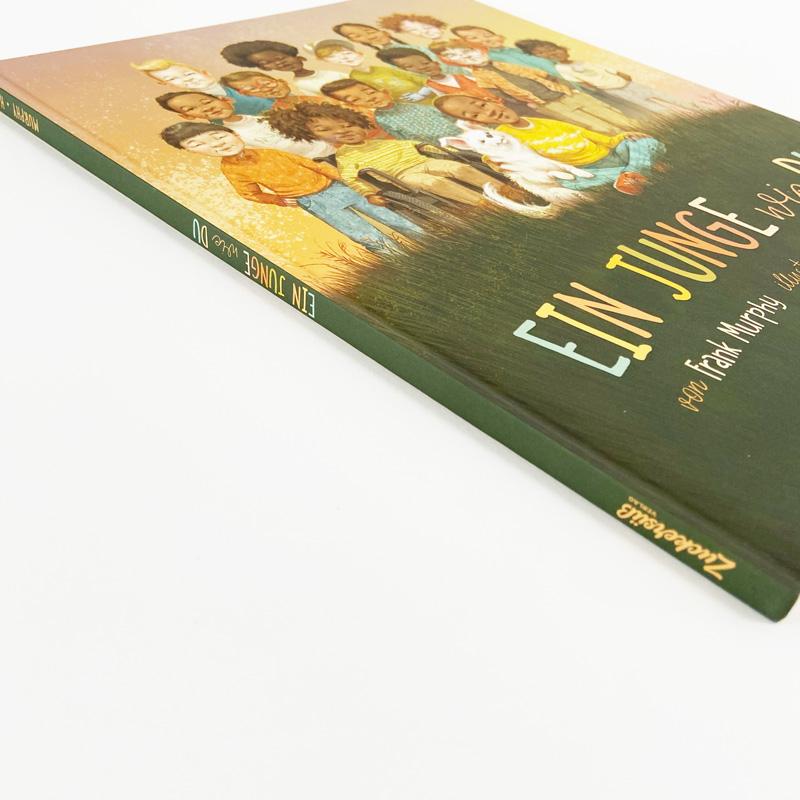Buch Ein-Junge wie du Seitenansicht