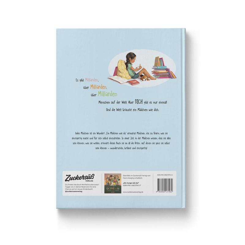 """Buch """"Ein Mädchen wie du"""" Ansicht Rückseite"""