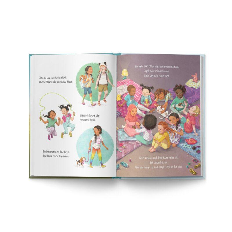 """Buch """"Ein Mädchen wie du"""" Blick ins Buch -2"""