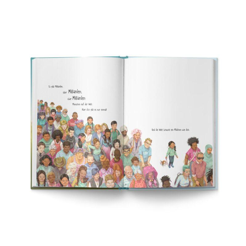 """Buch """"Ein Mädchen wie du"""" Blick ins Buch -1"""