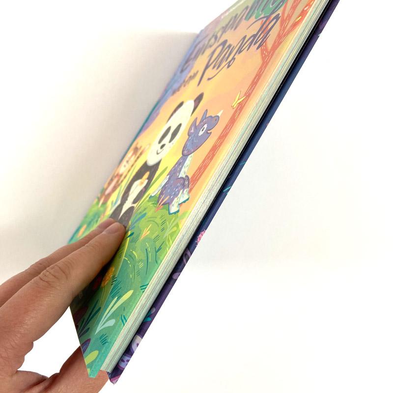 """Buch """"Entspannt wie ein Panda"""" Buchdicke"""