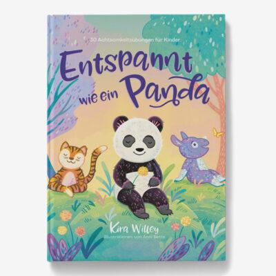 """Buch """"Entspannt wie ein Panda"""" Cover"""