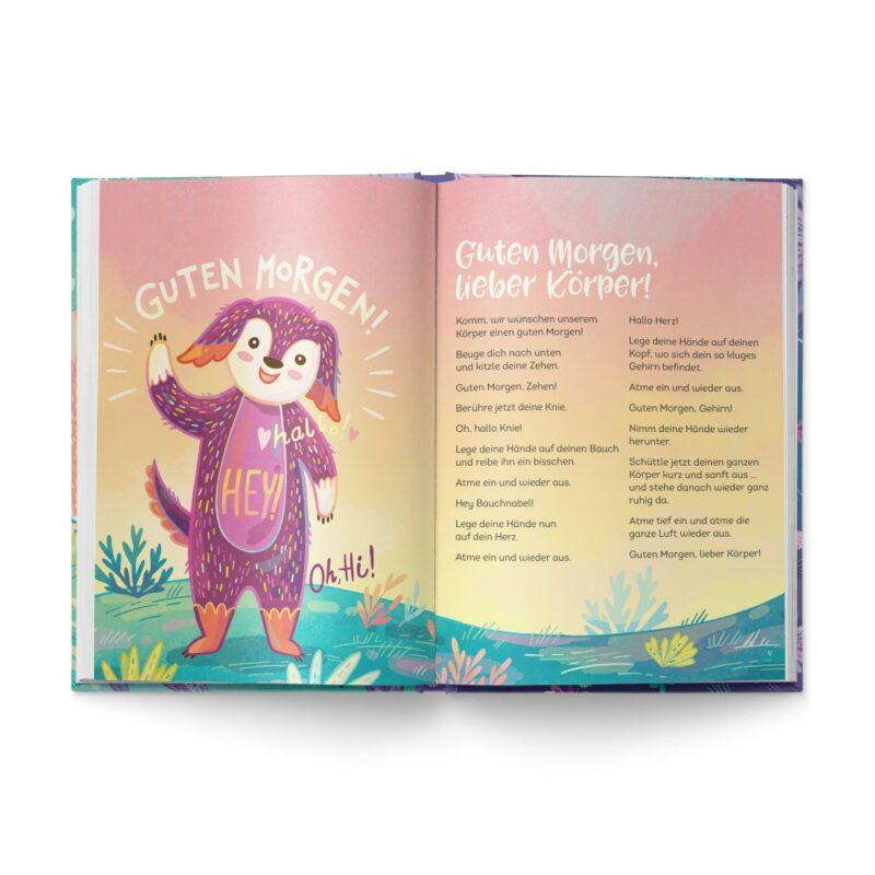 """Buch """"Entspannt wie ein Panda"""" Blick ins Buch"""