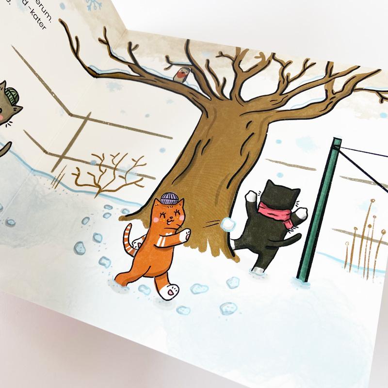 """Kinderbuch """"Ole und der Kirschbaum"""" - Innenseiten-1"""