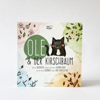 """Kinderbuch """"Ole und der Kirschbaum"""" - Titel"""