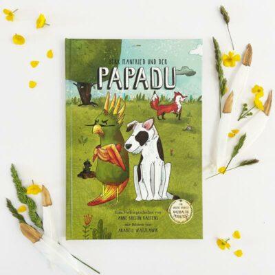 Kinderbuch-Herr Manfried und der Papadu Titelbild