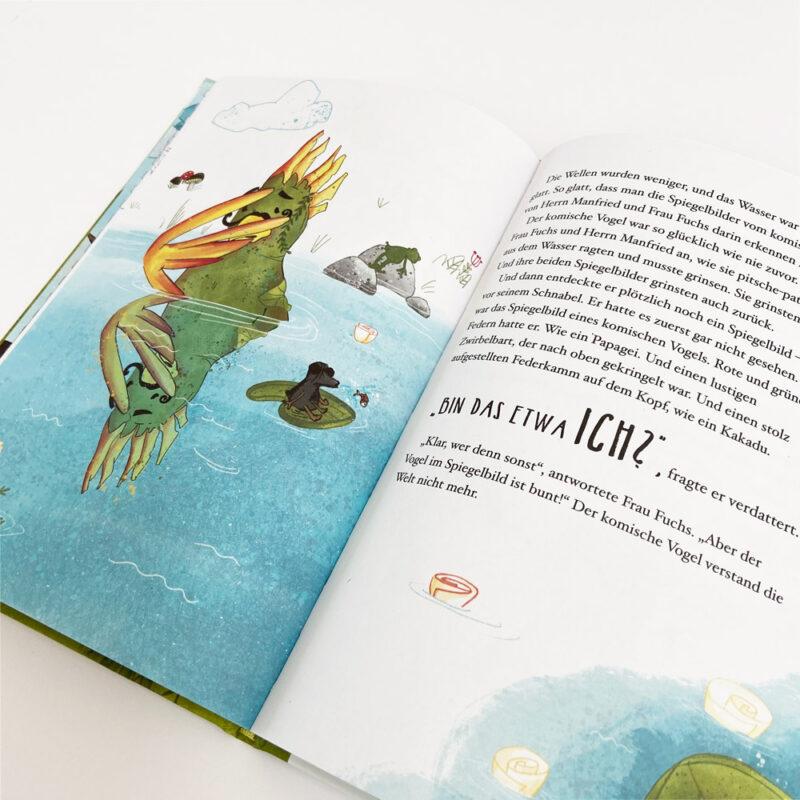 Kinderbuch-Papadu_Innenseite Vogel