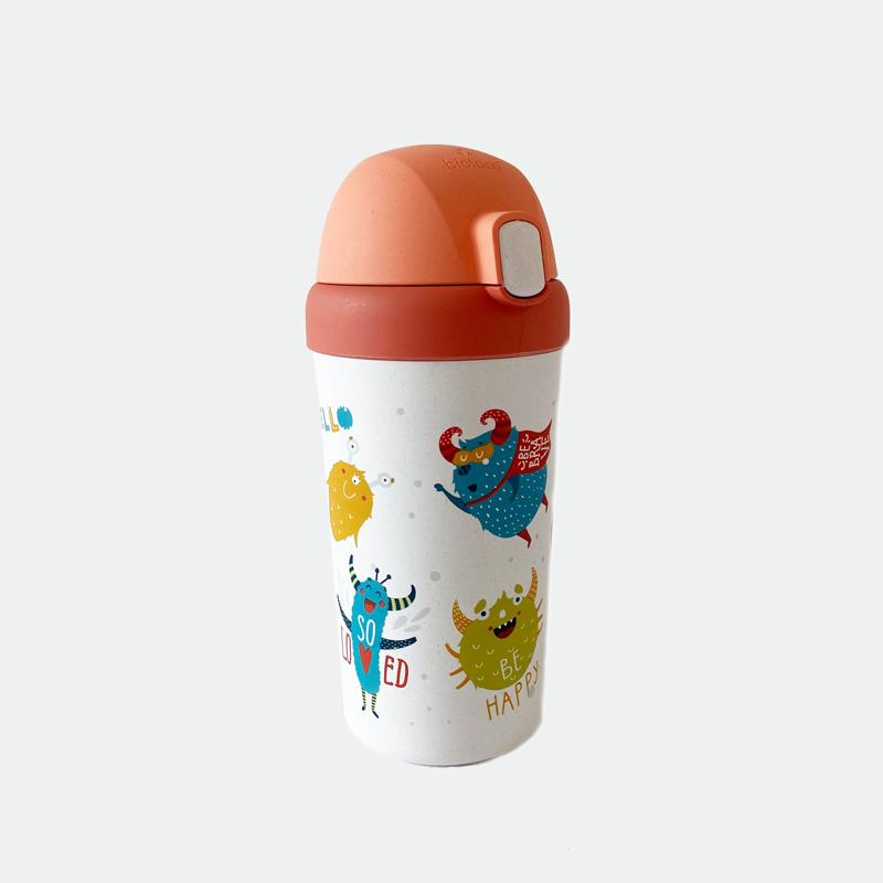 Detailansicht Kindertrinkflasche Gefühlsmonster
