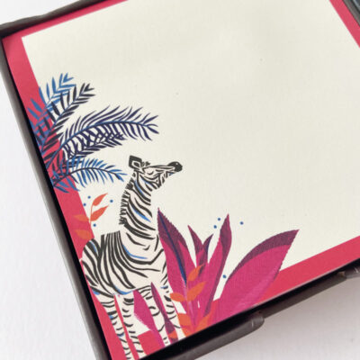 Klebezettel-Box-Zebra