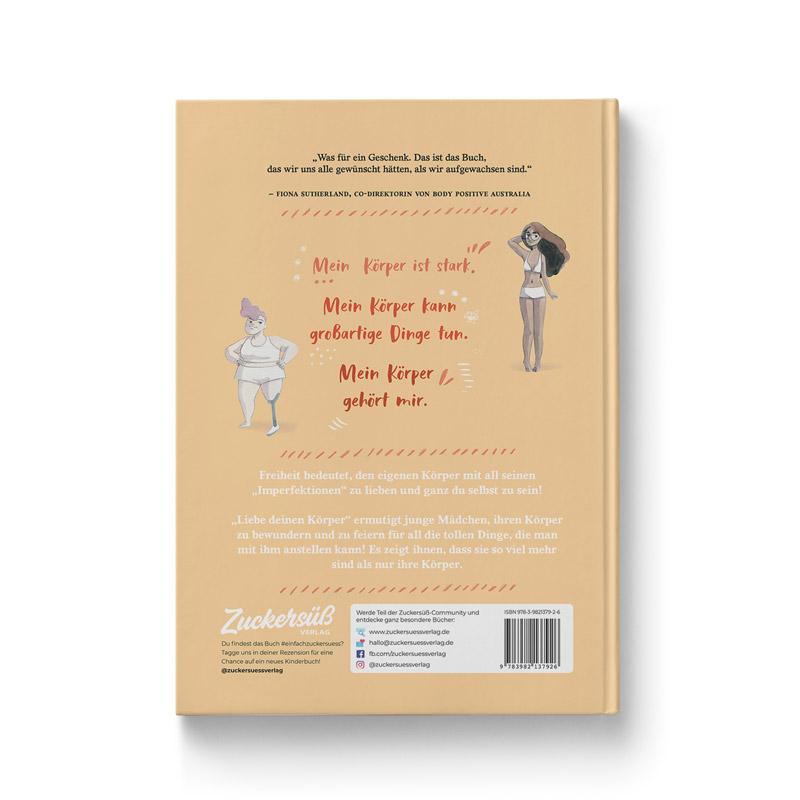 "Buch ""Liebe deinen Körper"" Rückseite Buch"