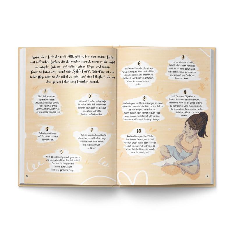 """Buch """"Liebe deinen Körper"""" Blick ins Buch"""
