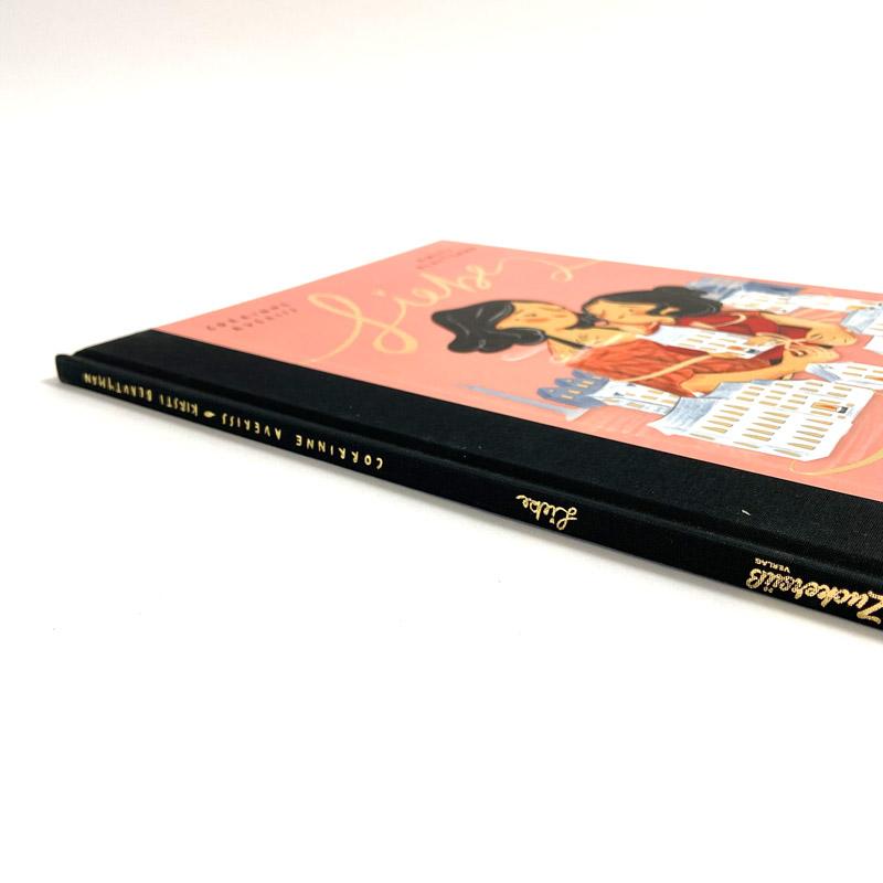 """Kinderbuch """"Liebe"""" Seitenansicht"""