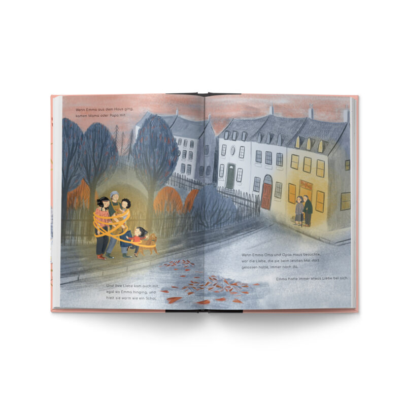 """Kinderbuch """"Liebe"""" Innenseite"""