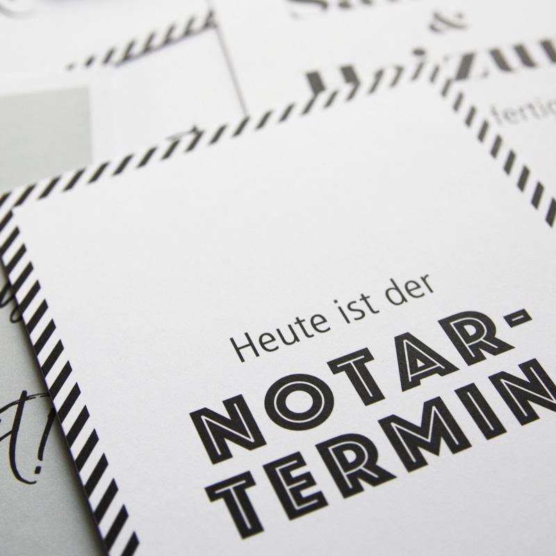 Meilensteinkartenset-Hausbau-Notartermin