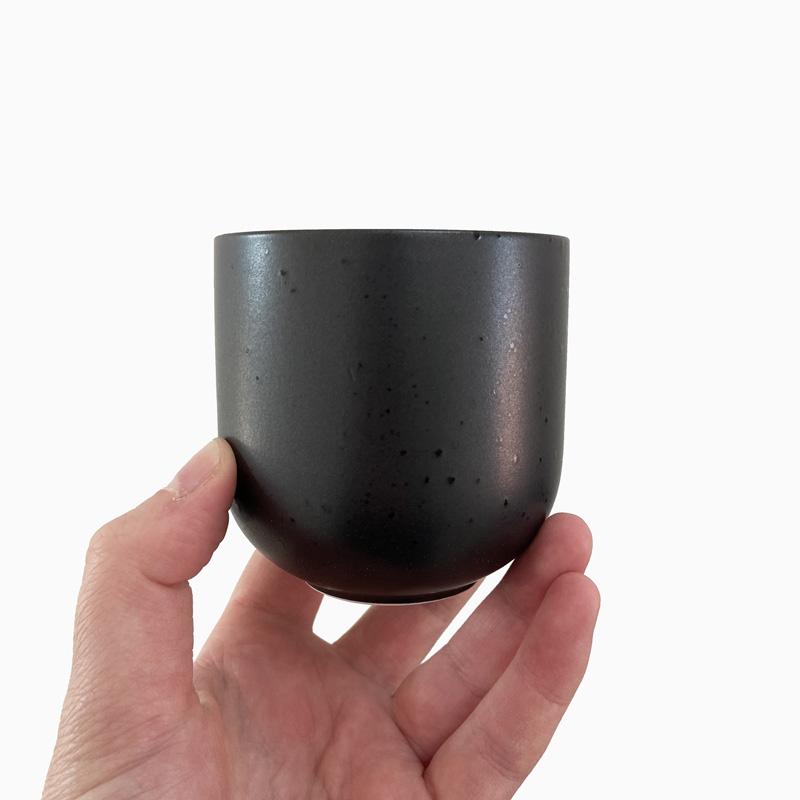 Teeschale schwarz