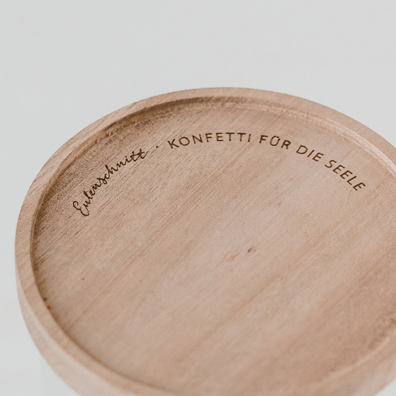 "Vorratsglas ""Süßes buntes Leben"": Nahaufnahme Deckel"