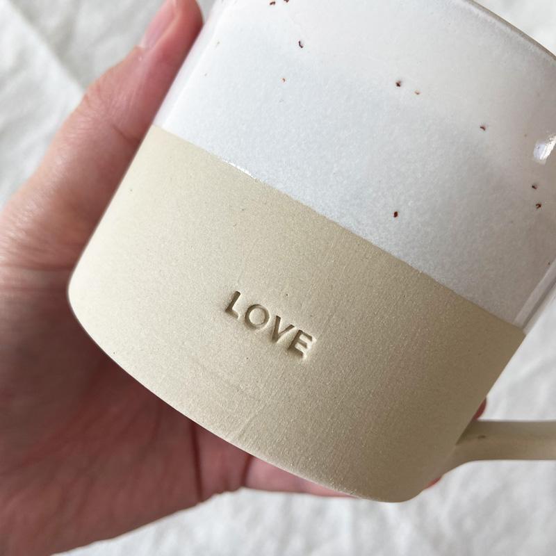 Tasse Love Detail