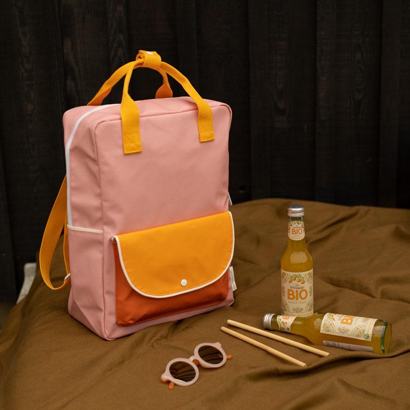 ticky_Lemon_wanderer_backpack_large_-_candy_pink_+_sunny_yellow__carrot_orange_1